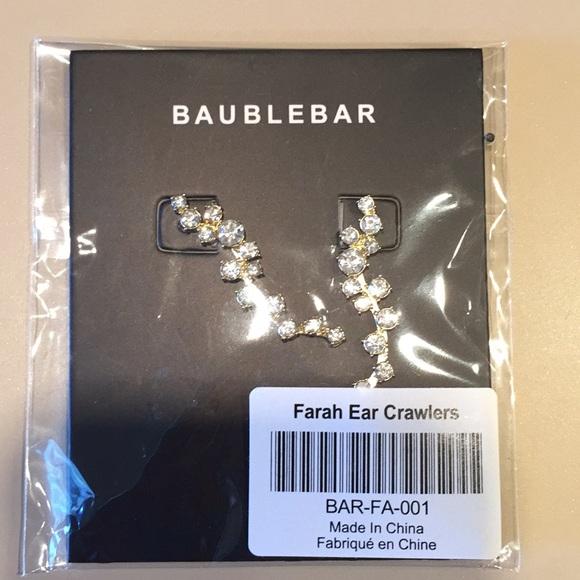 BaubleBar Jewelry - Farah Ear Crawlers from BAUBLEBAR